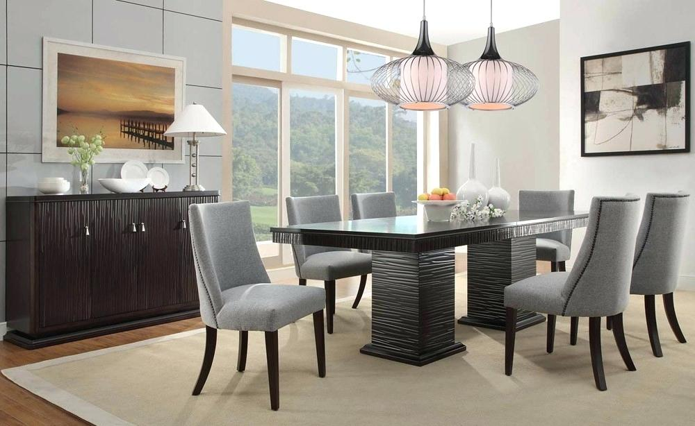 Image of: Affordable Modern Dining Room Sets