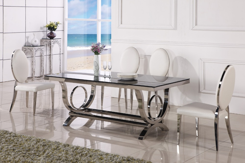 Image of: All Modern Dining Room Sets