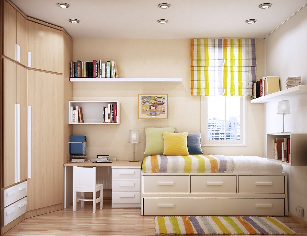 Arranging A Small Bedroom Ideas