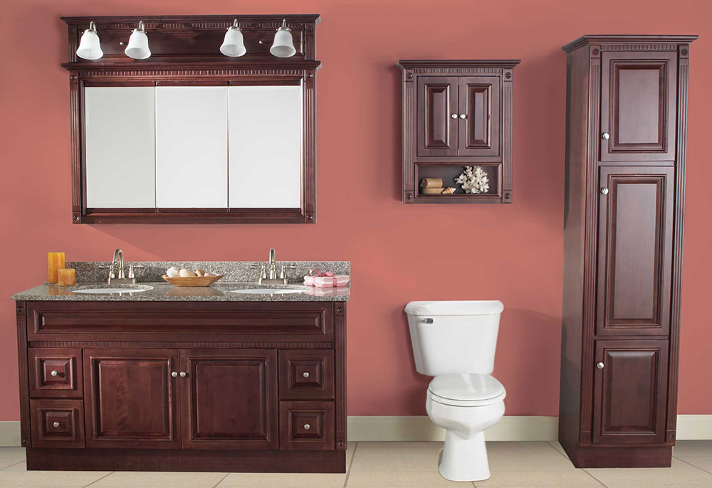 Image of: Bathroom Cabinets DIY