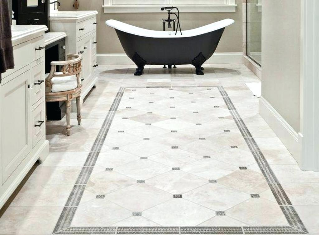 Image of: Bathroom Floor Tiles Design Ideas