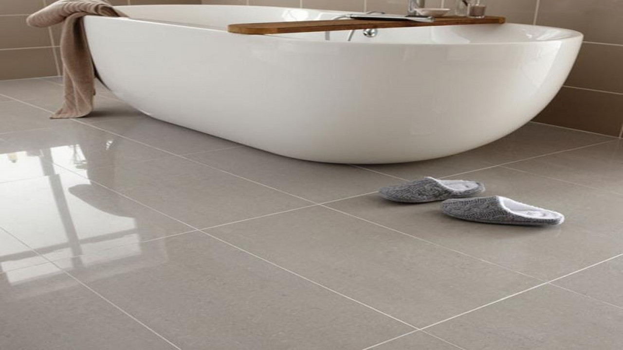 Image of: Bathroom Floor Tiles Design Images