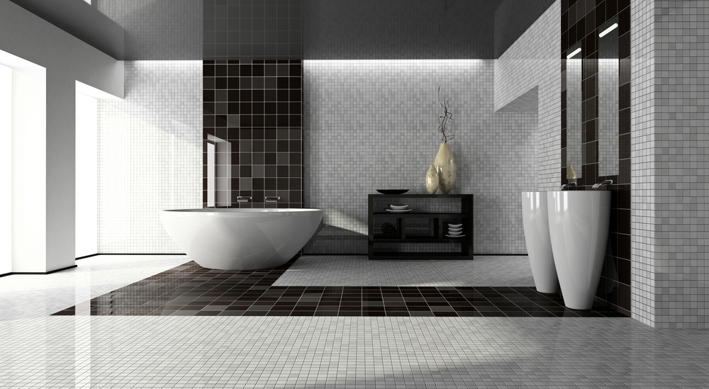 Image of: Bathroom Floor Tiles Price