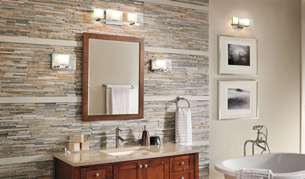 Image of: Bathroom Lights Cover