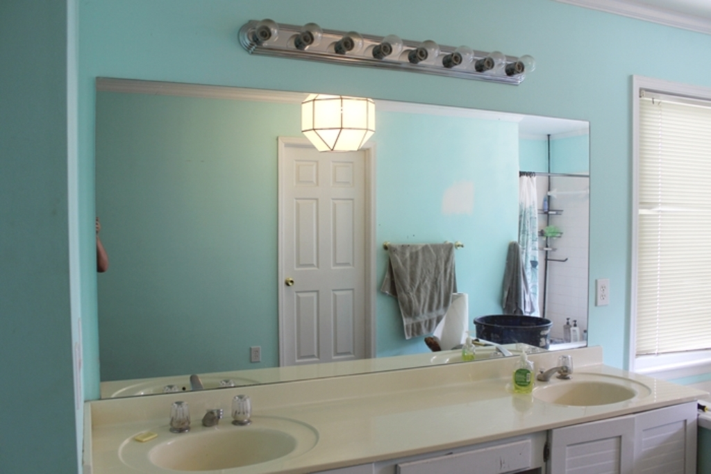 Image of: Bathroom Mirrors Cost