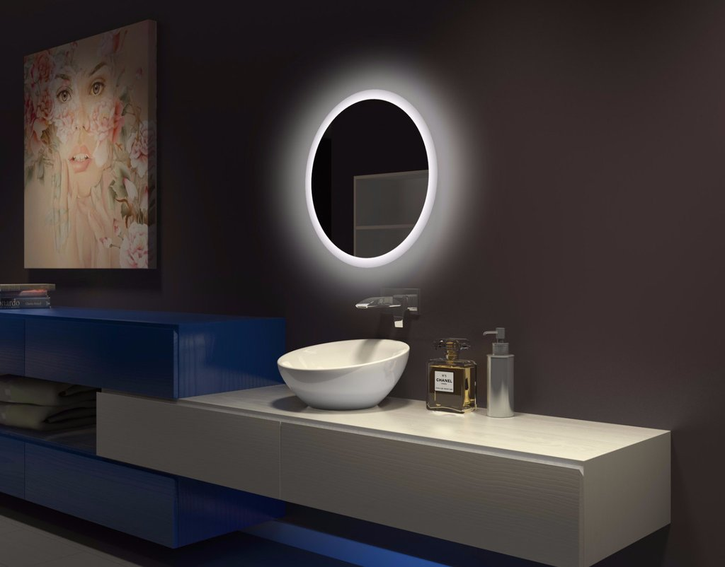 Image of: Bathroom Mirrors Custom Size