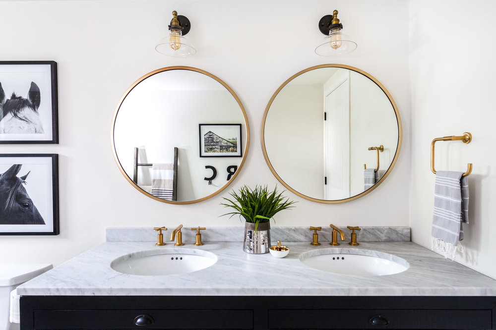 Image of: Bathroom Mirrors Framed