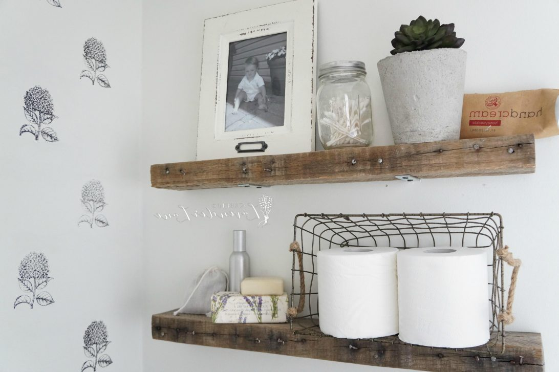 Bathroom Shelves Decorating Ideas
