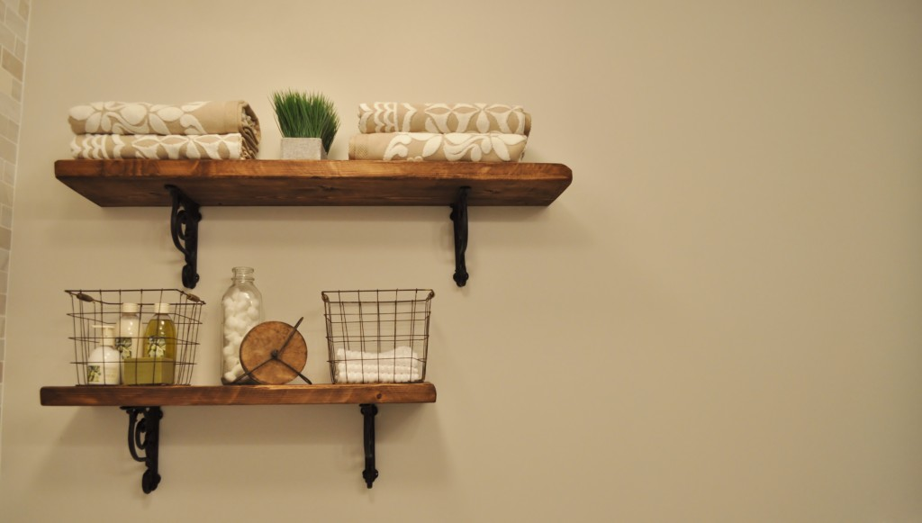 Bathroom Shelves Design