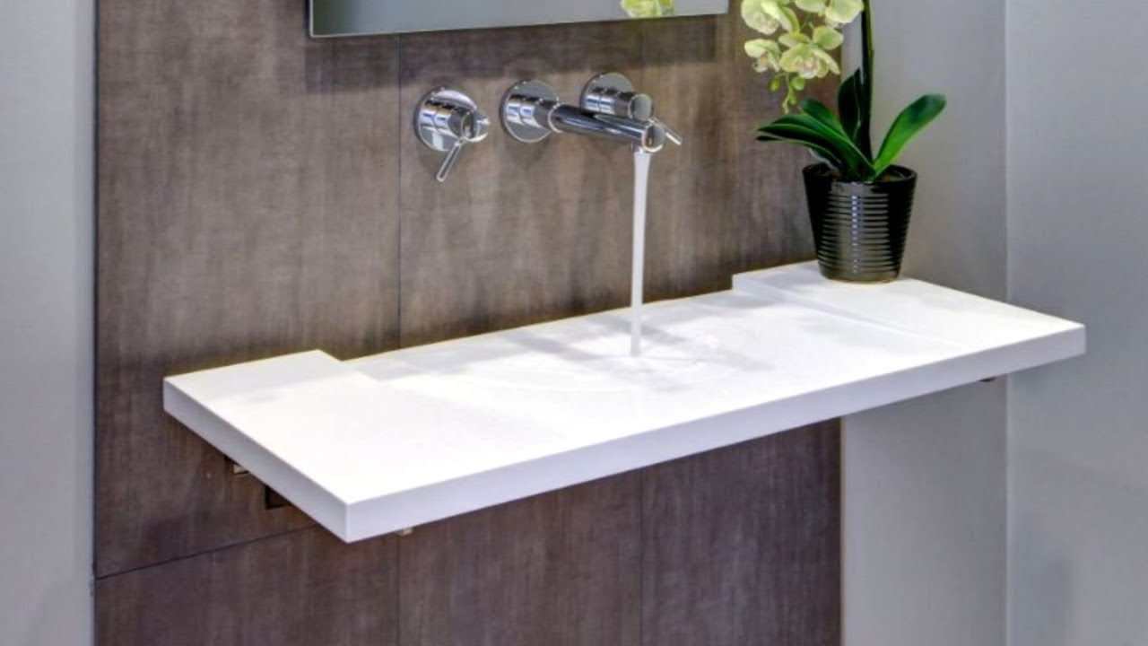 Image of: Bathroom Sink Console