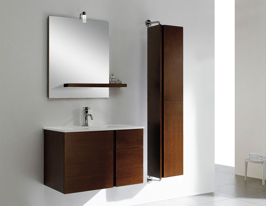 Image of: Bathroom Storage Design