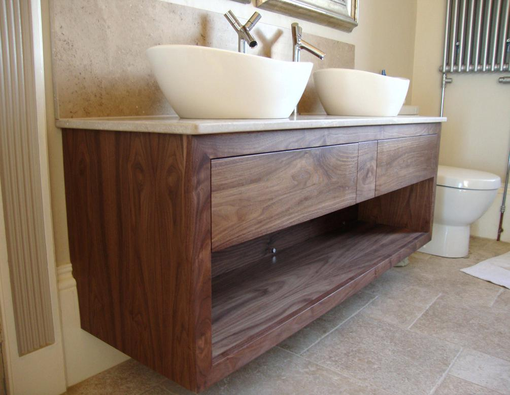 Image of: Bathroom Wall Cabinets Design