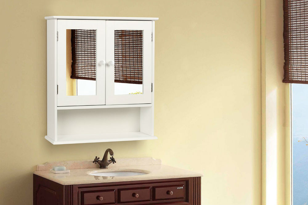 Image of: Bathroom Wall Cabinets Images