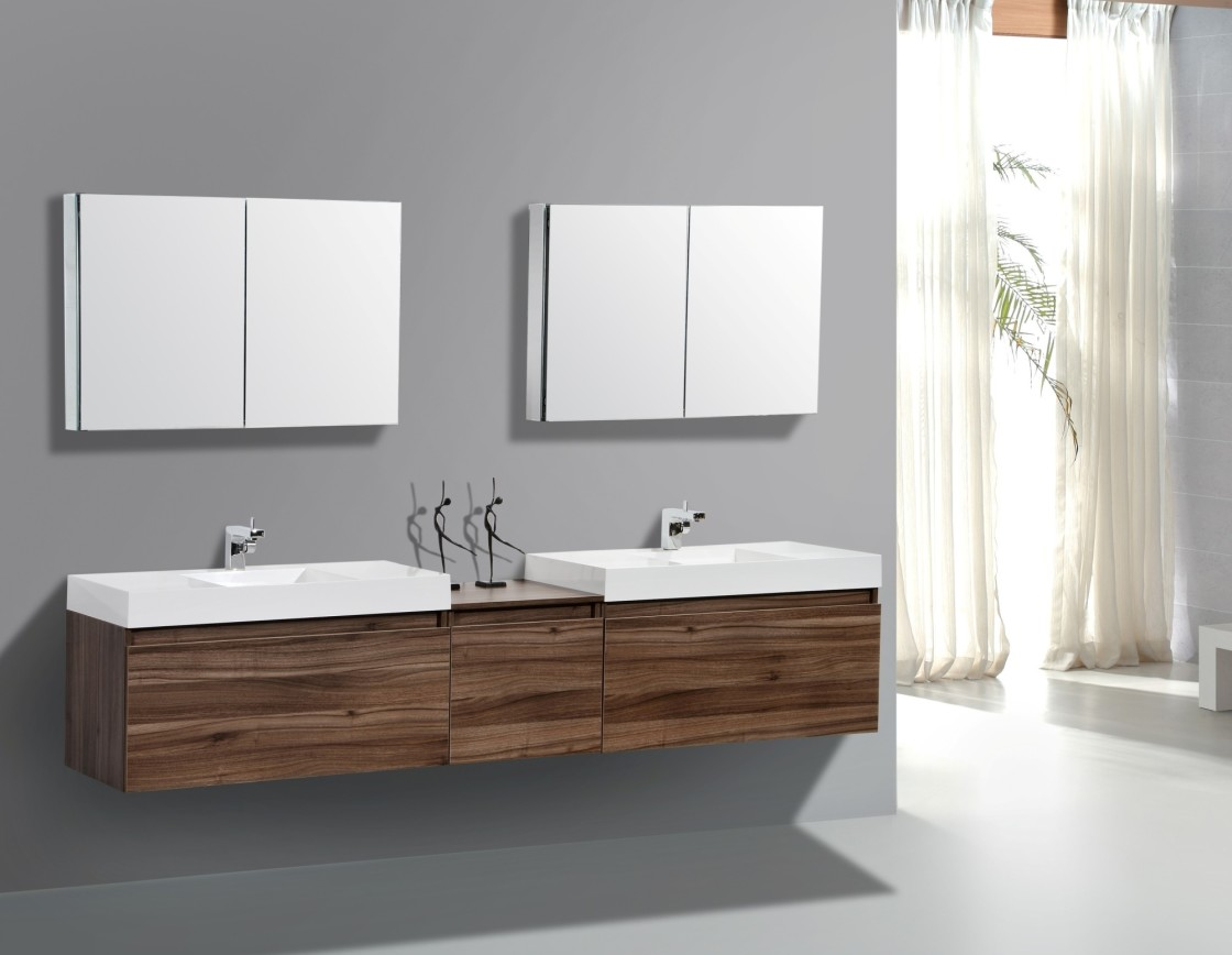 Image of: Bathroom Wall Cabinets Next