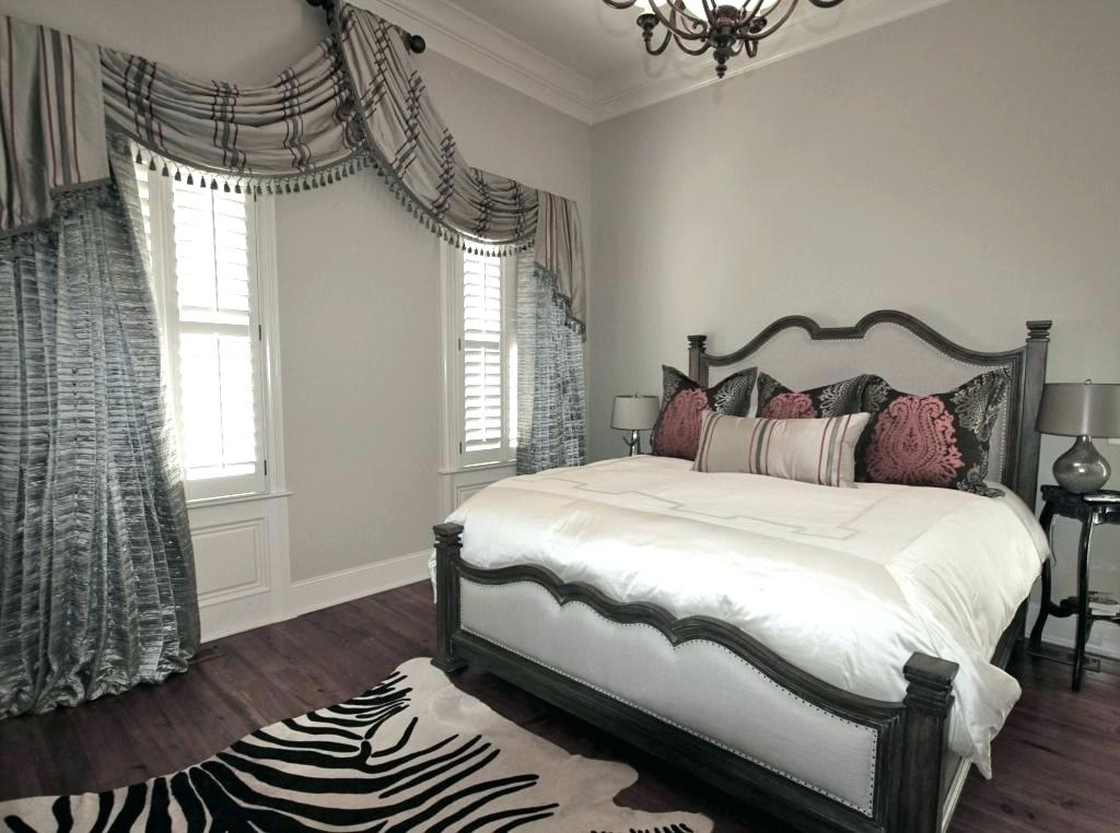 Image of: Bedroom Curtains Color