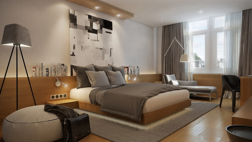 Image of: Bedroom Design Modern