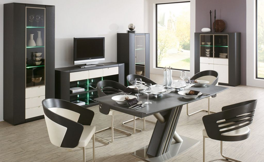 Image of: Best Modern Dining Room Sets