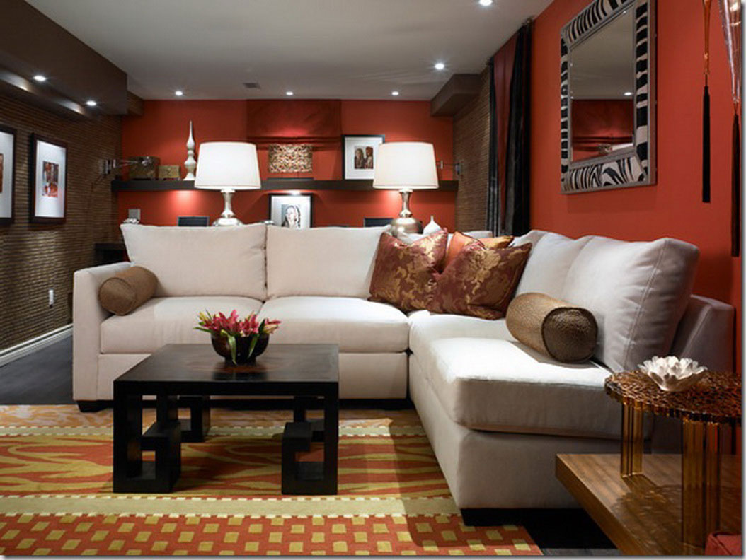 Image of: Cool Living Room Paint Ideas