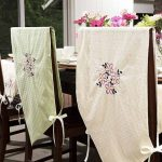 Dining Room Chair Covers Clear