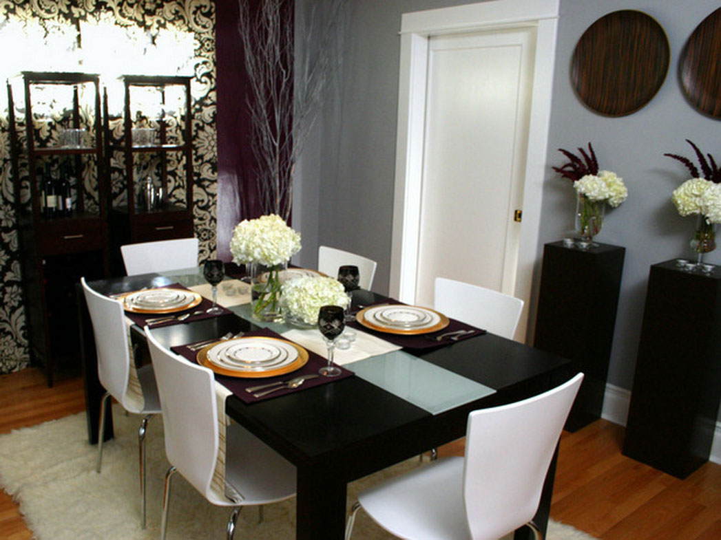Image of: Dining Room Decor Wall
