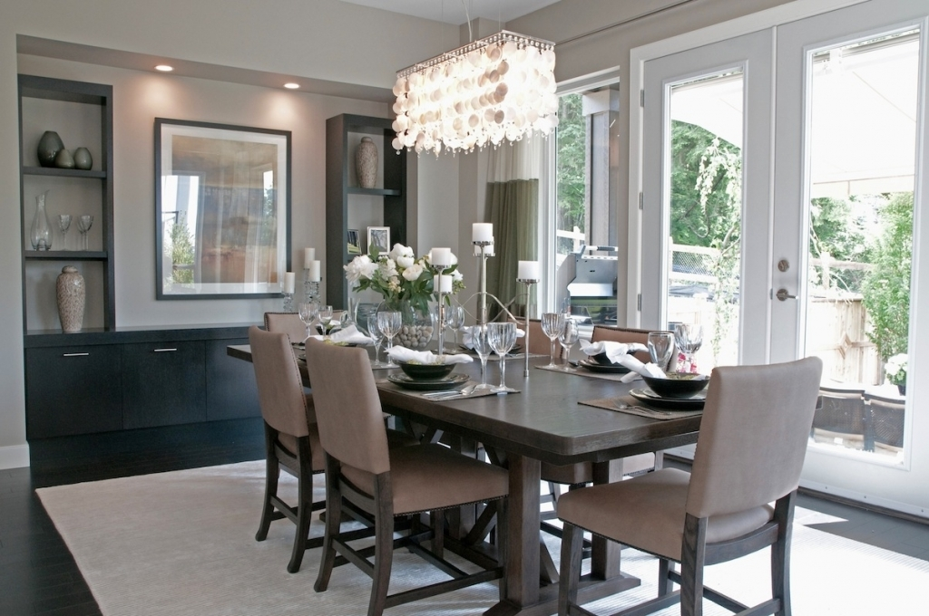 Image of: Dining Room Light Fixtures Contemporary