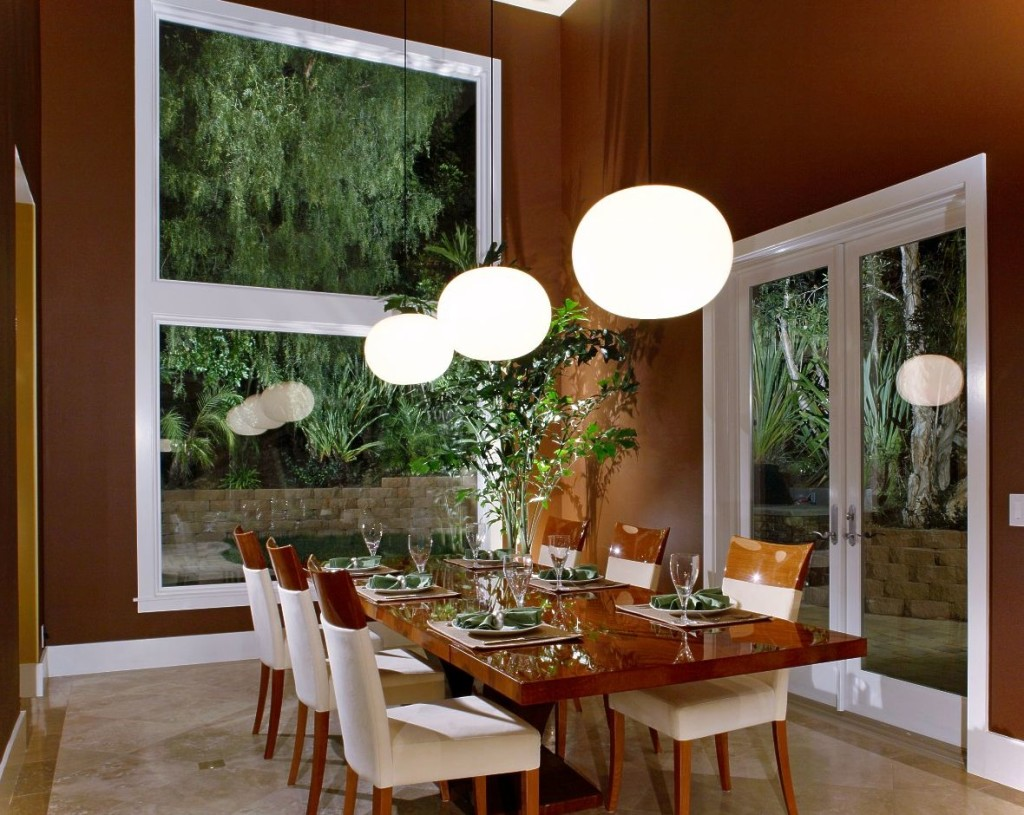 Image of: Dining Room Lighting DIY