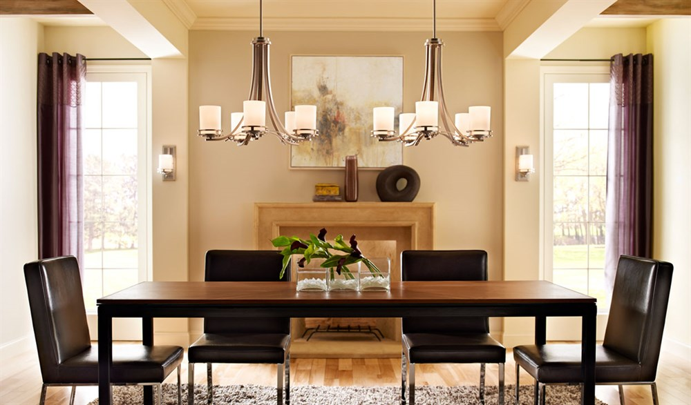 Image of: Dining Room Lighting Design Tips