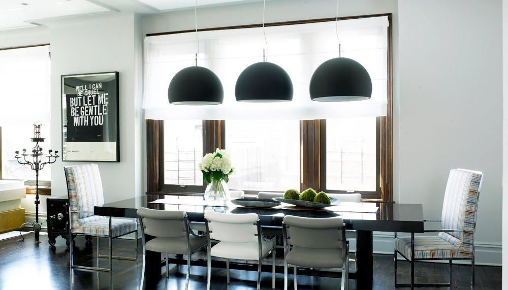 Image of: Dining Room Lighting Trends