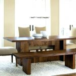 Dining Room Table With Bench Plans