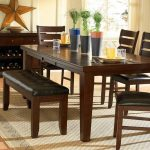 Dining Room Table With Bench Set