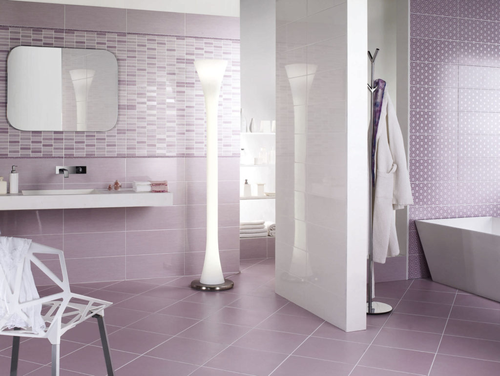 Image of: Easy Bathroom Tile Ideas