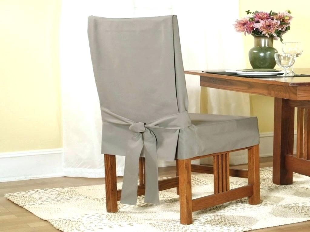 Image of: Easy Dining Room Chair Covers