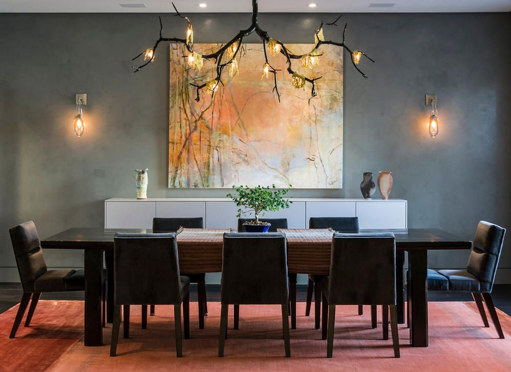 Image of: Elegant Dining Room Light Fixtures