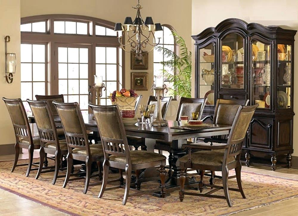 Image of: Elegant Formal Dining Room Sets