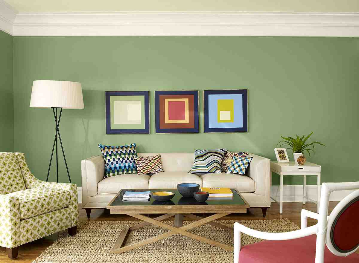 Image of: Elegant Living Room Paint Colors