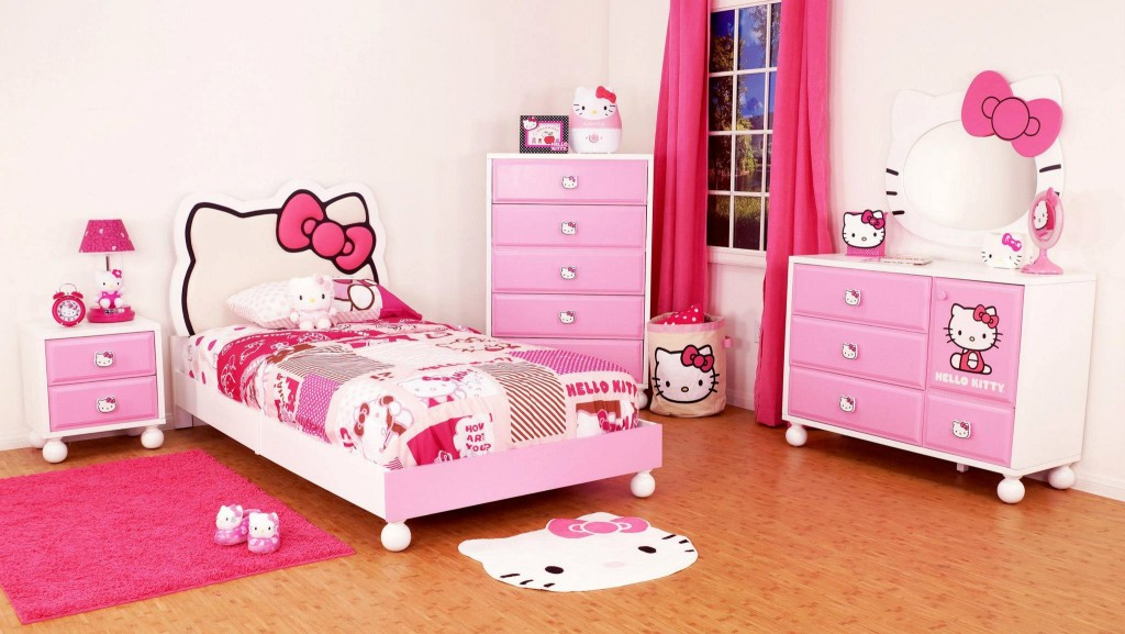 Image of: Girls Bedroom Sets Colors
