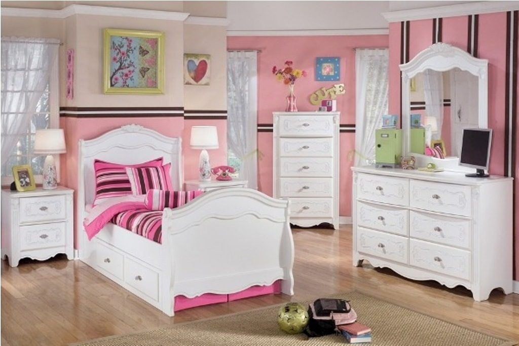 Image of: Girls Bedroom Sets Colours