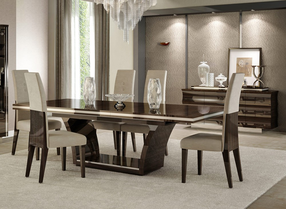 Image of: Images of Modern Dining Room Sets