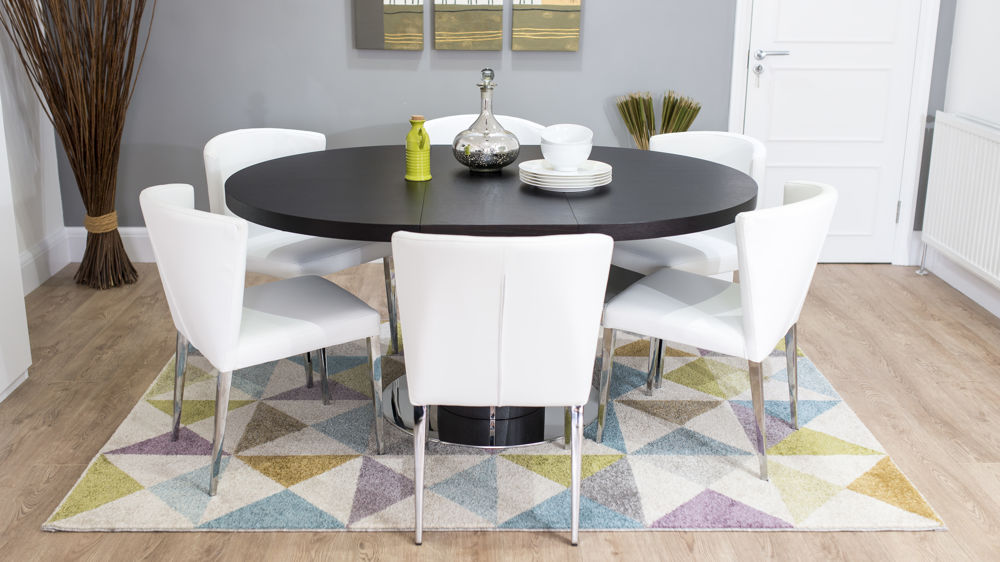 Images Of Round Dining Room Tables