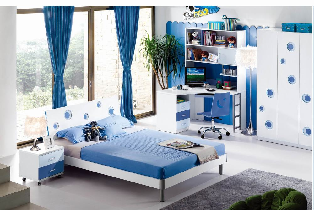 Image of: Kids Bedroom Sets Full