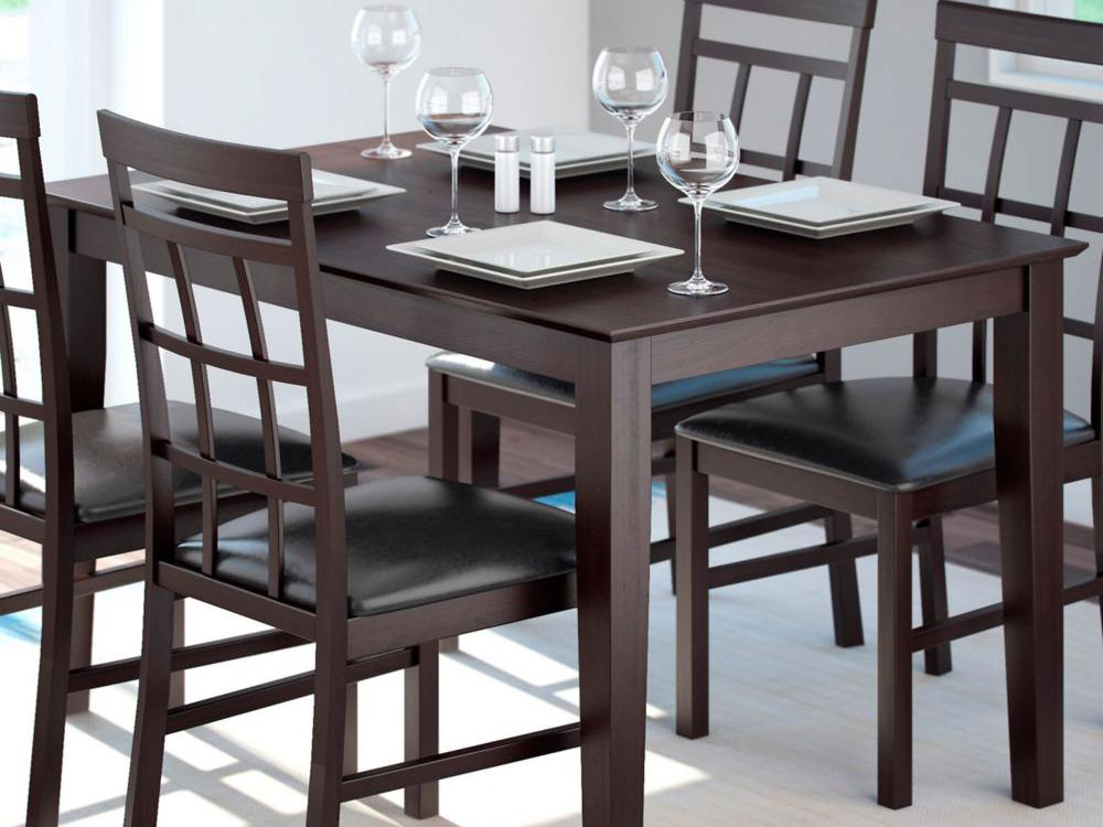 Image of: Kitchen and Dining Room Chairs Dimensions