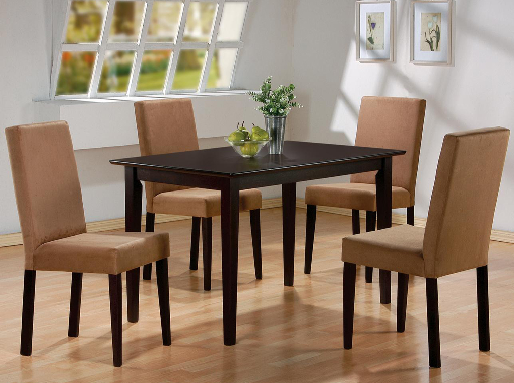 Image of: Kitchen and Dining Room Chairs and Table