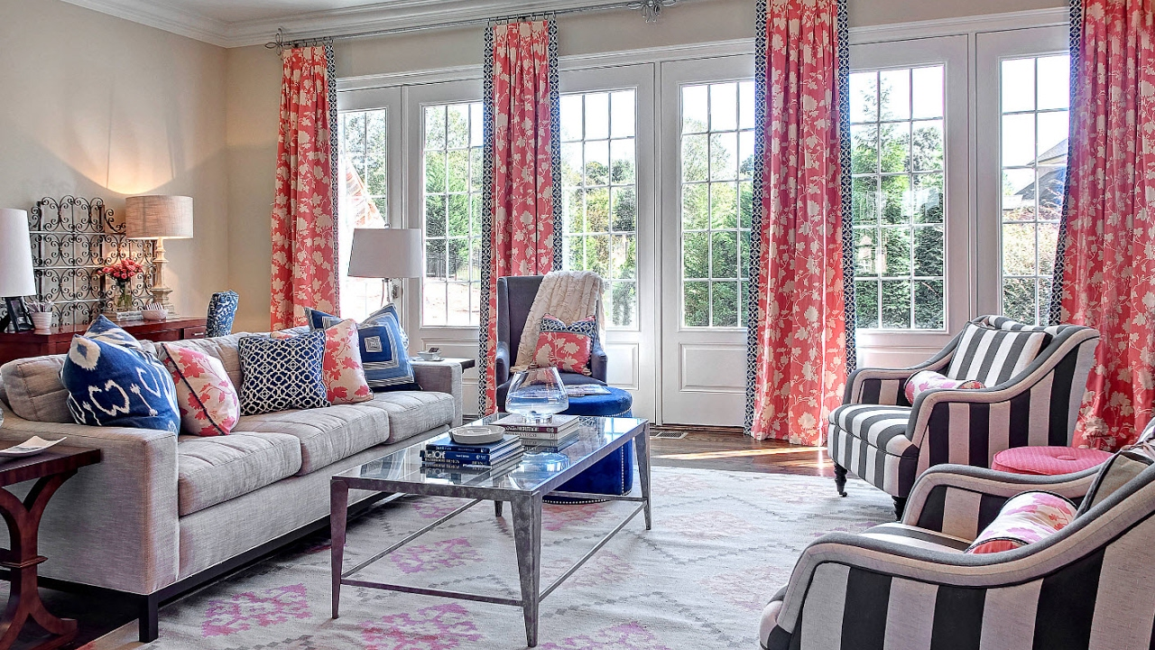 Living Room Curtains Design Ideas