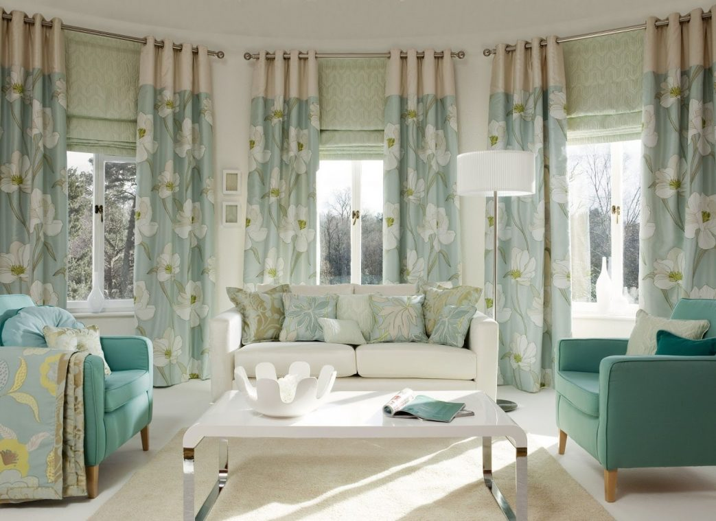 Image of: Living Room Curtains Design