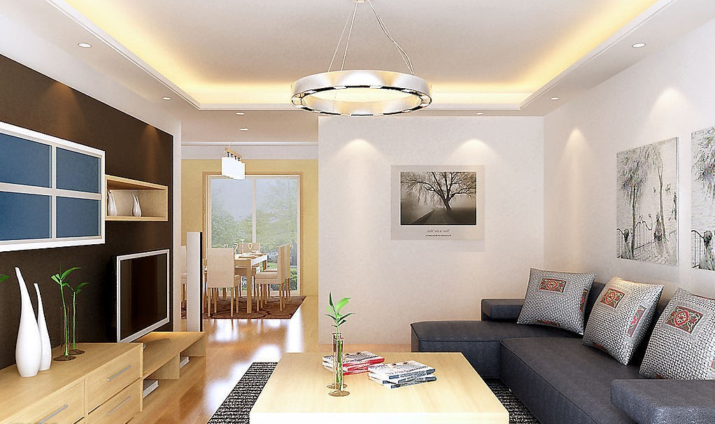 Living Room Lighting Design