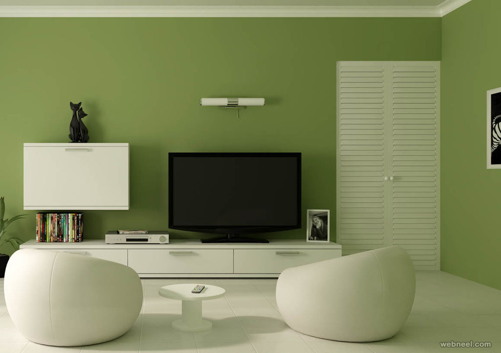 Image of: Living Room Paint Ideas Accent Walls