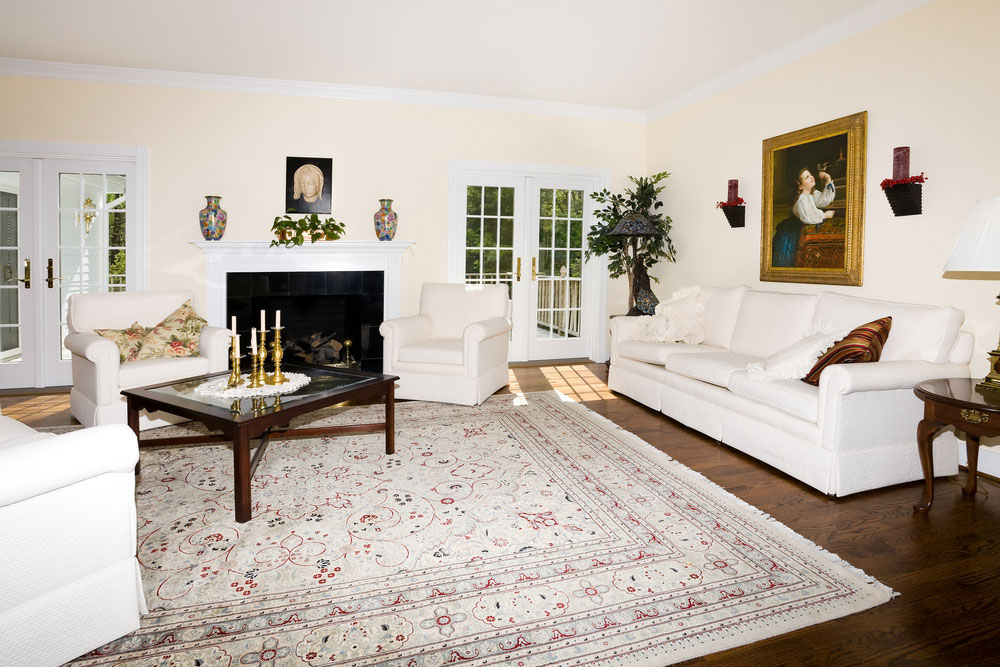 Image of: Living Room Rugs Size