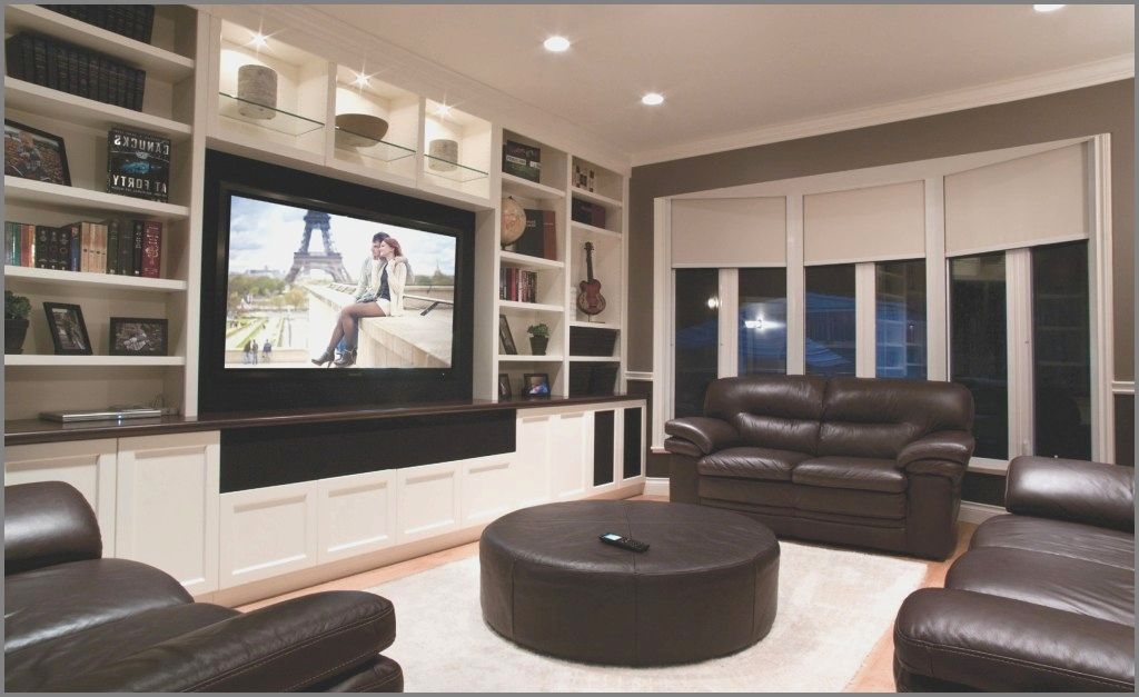 Living Room Theater Decor