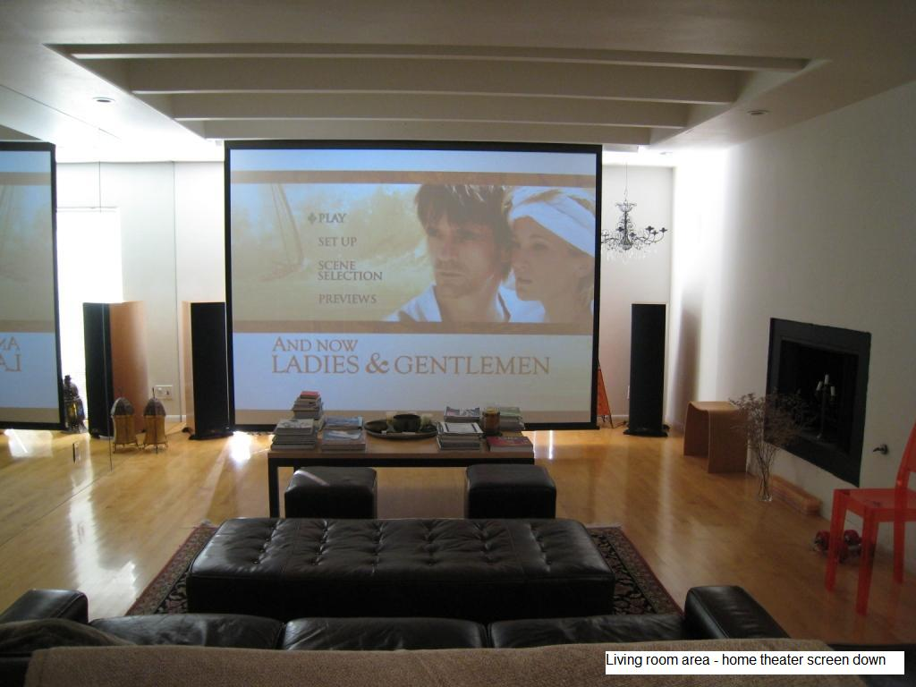 Living Room Theater Ideas