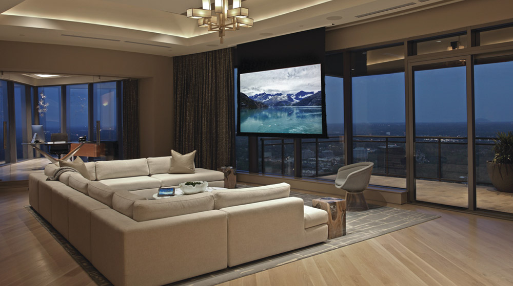Living Room Theater Rooms
